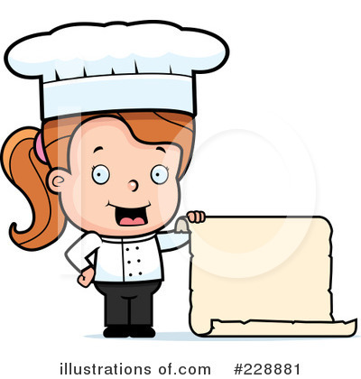 Kid Chef Clip Art Royalty Free  Rf  Chef Clipart