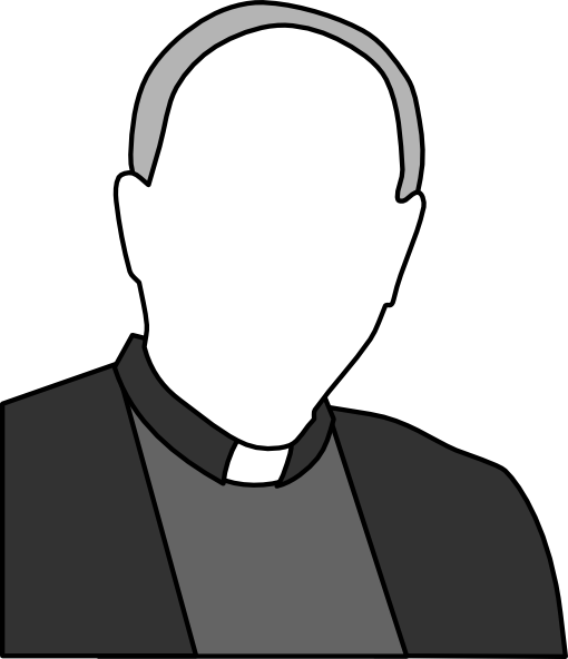 Priest Clip Art At Clker Com   Vector Clip Art Online Royalty Free