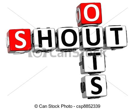 Shout Clipart Can Stock Photo Csp8852339 Jpg