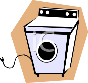 0511 1110 2922 2653 Clothes Dryer Electric Appliance Clipart Image Jpg