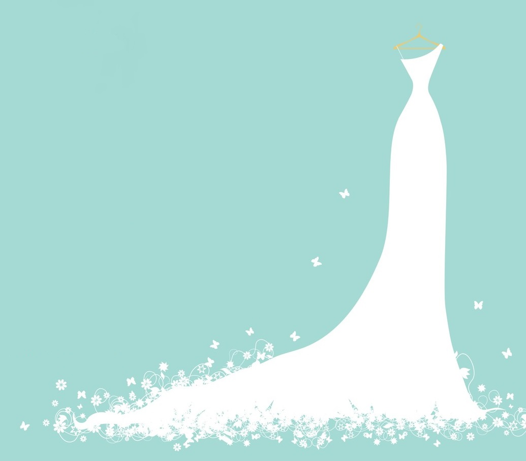 Wedding Dress Silhouette Clipart