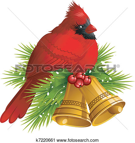Christmas Bird Clipart - Clipart Kid