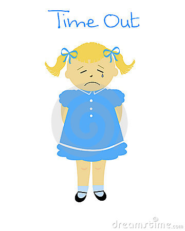 Child In Time Out Clip Art Naughty Girl 18701503 Jpg