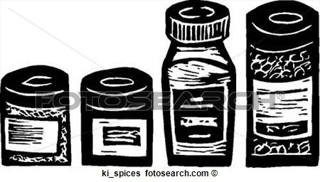 Seasoning Jar Clip Art