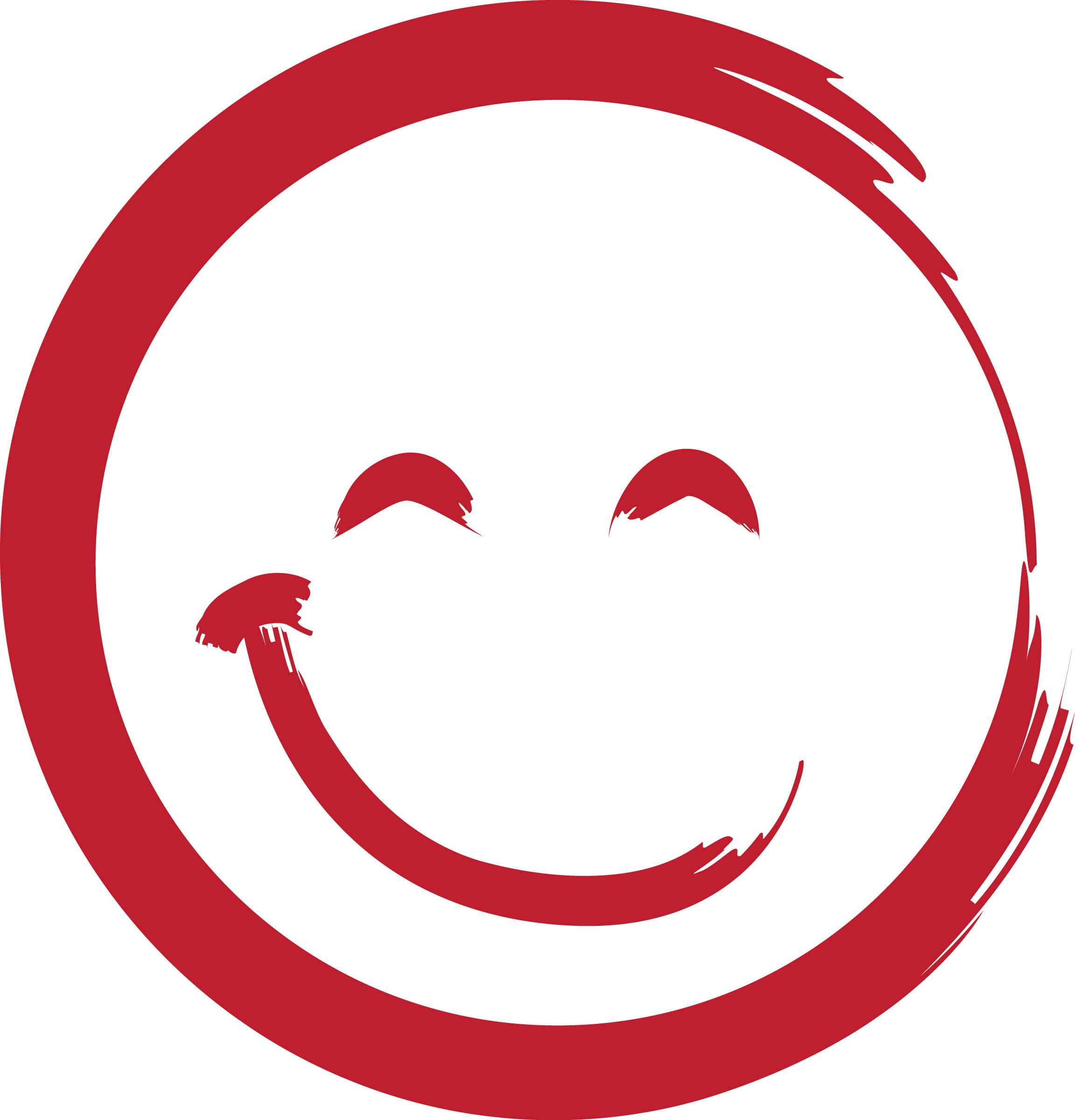 Red Smiley Face Clipart - Clipart Kid