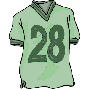 Shirt   Jersey 1 Clipart Cliparts Of Shirt   Jersey 1 Free Download
