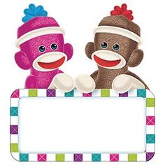 Sock Monkey On Pinterest   Classroom Themes Sock Monkeys And Name
