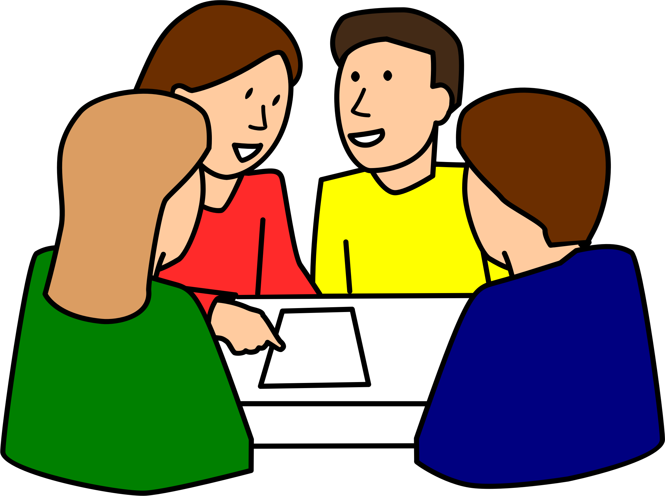 Group Work Clipart - Clipart Suggest