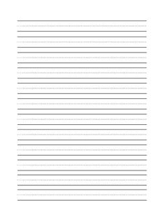 Template For Paper With Lines For Writing   Clip Art Of A Blank