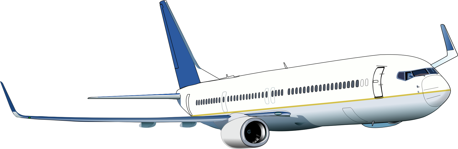 Boeing Clipart Clipart Suggest