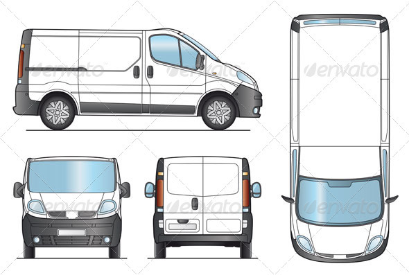 Trafic clipart clipart suggest - Van plan corian ...