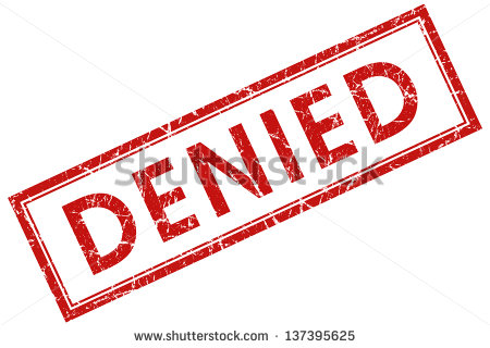 Denied Stock Photos Illustrations And Vector Art