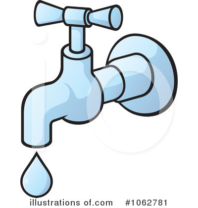 Faucet Clipart  1062781   Illustration By Any Vector