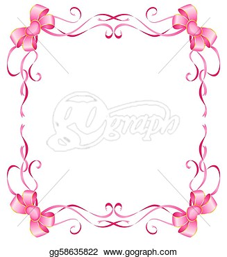 Illustration   Christmas Background With Pink Bow  Clip Art Gg58635822
