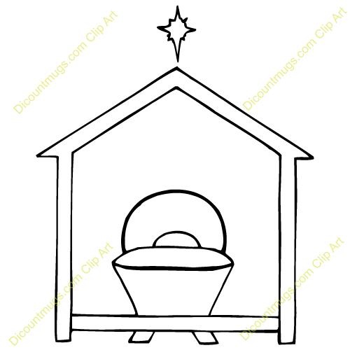 Manger Clip Art Away in a manger clipart - clipart kid