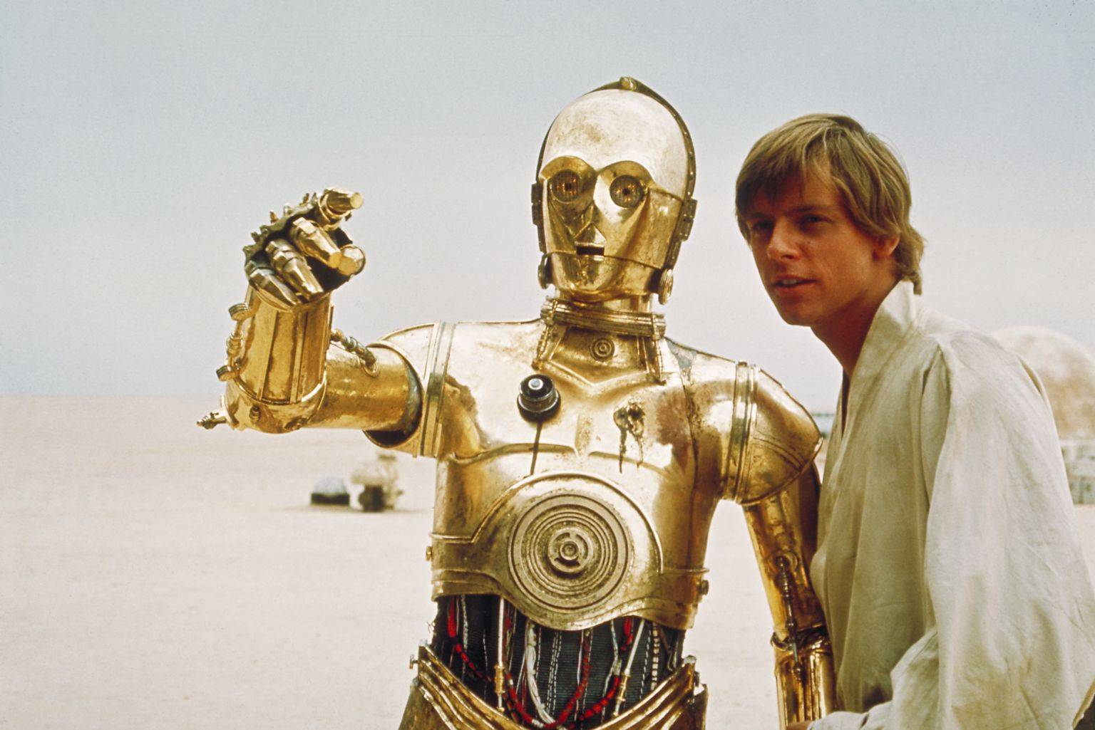 an analysis of the character of c 3po in star wars a movie by george lucas