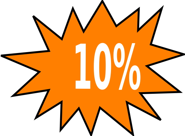 10  Off Clip Art At Clker Com   Vector Clip Art Online Royalty Free
