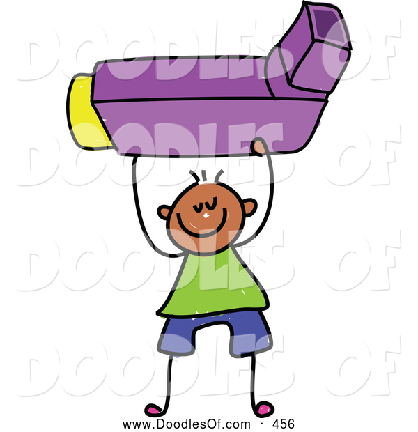 Asthma Inhalers Clip Art Vector Clipart Of A Stick Figure Drawing Of A