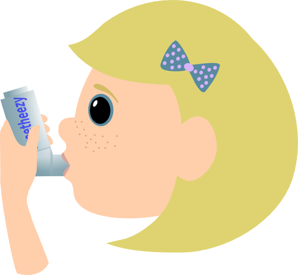 Child With Asthma Clip Art At Clker Com   Vector Clip Art Online