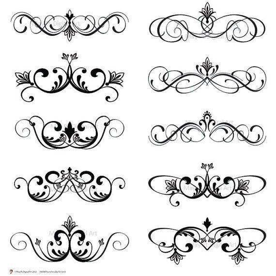 De Lis Vector Eps Png Business Images 10094   Clip Art Vintage Ins