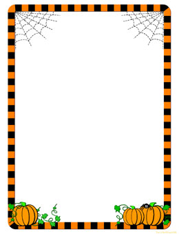halloween frame clip art pictures