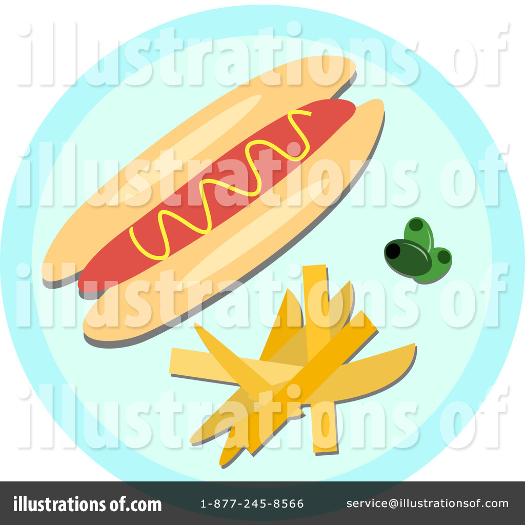 Royalty Free  Rf  Fast Food Clipart Illustration By Bpearth   Stock