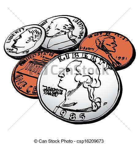Clip Art Coins Clip Art american coin clipart kid stock clip art icon icons logo line art