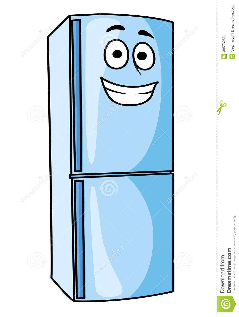 Stock Photo  Fridge Freezer Or Refrigerator Kitchen Appliance  Image