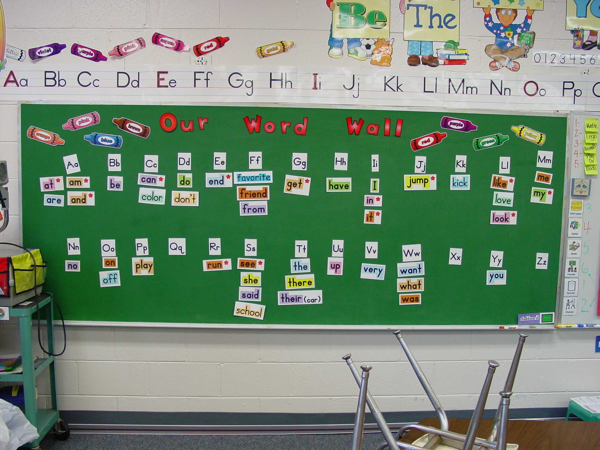 Teacher S Idea  The Importance Of Word Walls