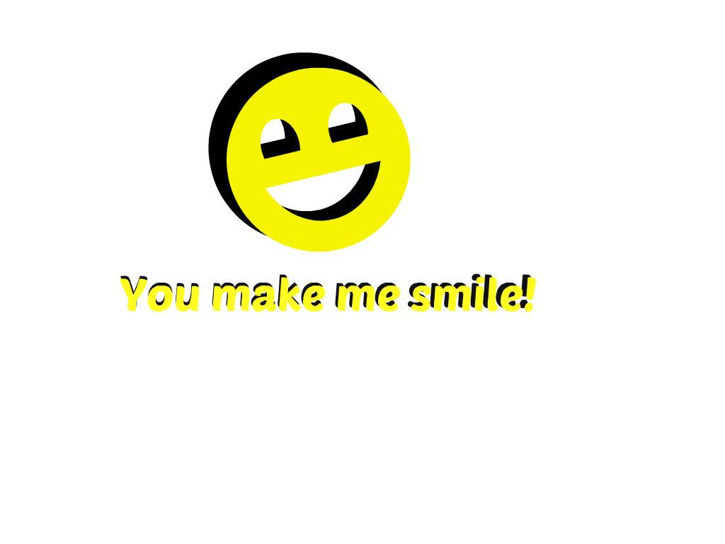 You Make Me Smile Clipart By Kreatie Katie On Deviantart