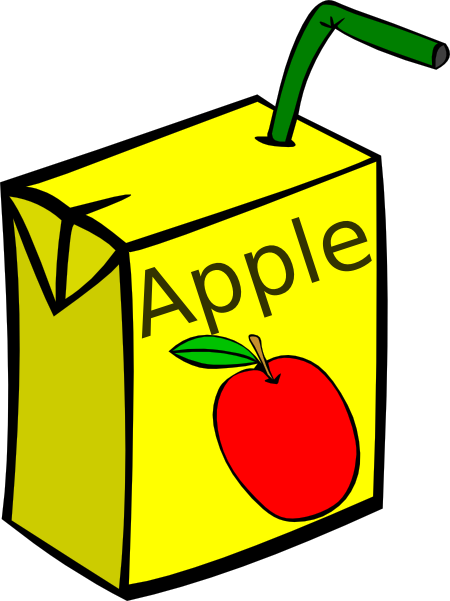 Apple Juice Clipart - Clipart Kid