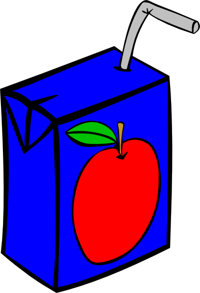 Apple Juice Box Clip Art At Clker Com   Vector Clip Art Online
