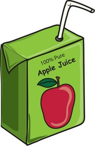 Apple Juice Clipart Image   Apple Juice