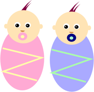 Twins Clipart - Clipart Kid