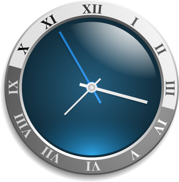 Clock Clip Art At Clker Com   Vector Clip Art Online Royalty Free