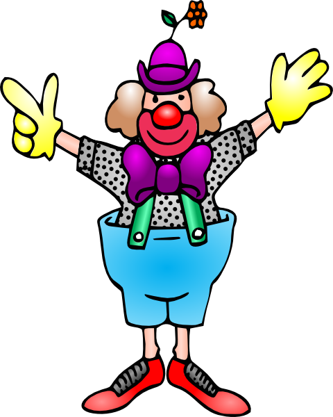 Clown Clip Art At Clker Com   Vector Clip Art Online Royalty Free