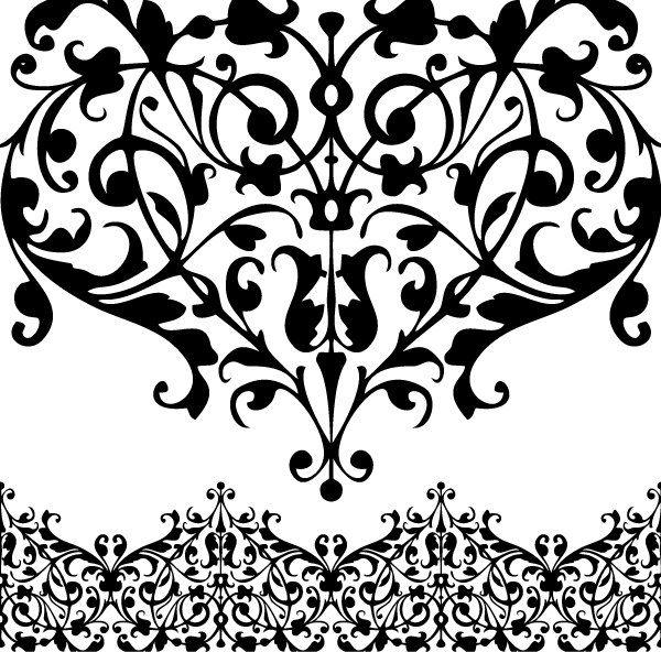 Clip Art Lace Clip Art lace clipart kid digital border clip art png eps rusteam 4 00 via etsy