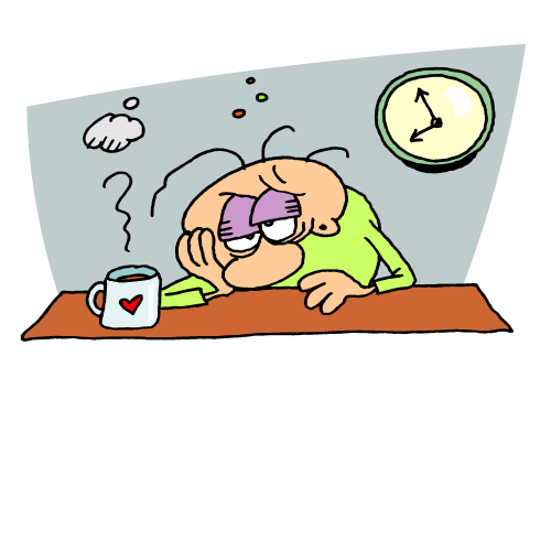 So Tired Clipart - Clipart Suggest