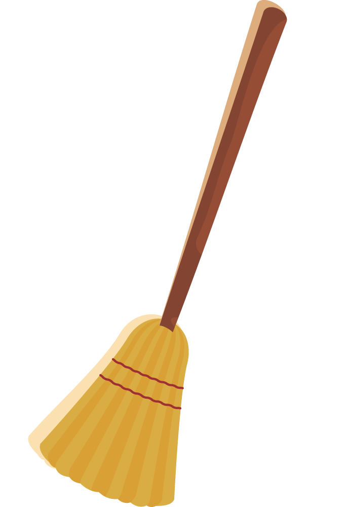 Broom Clipart - Clipart Kid