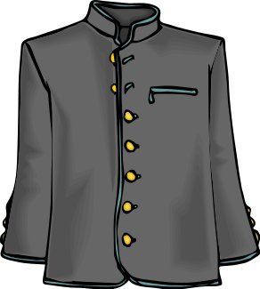 Free Dress Jacket Clipart   Free Clipart Graphics Images And Photos