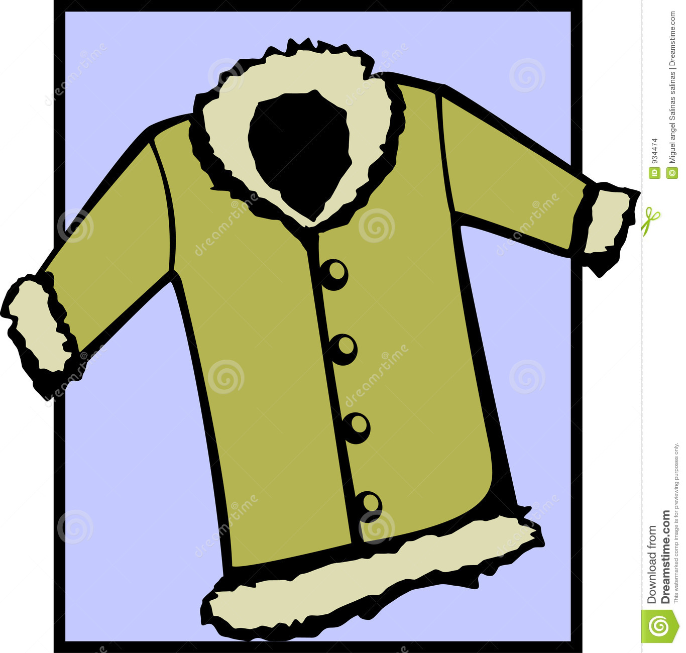 Fur Coat Or Winter Jacket    Clipart Panda   Free Clipart Images