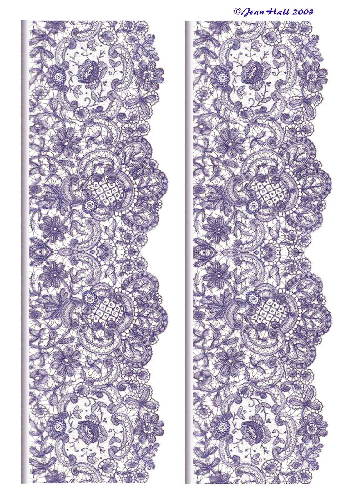 Simple lace patterns clipart - photo#27