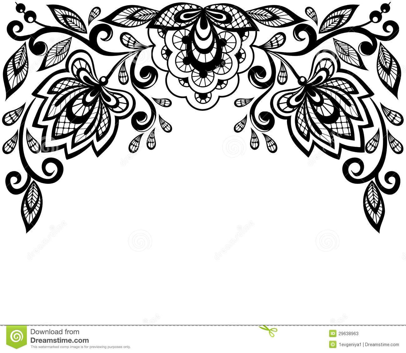 Lace Clipart - Clipart Suggest