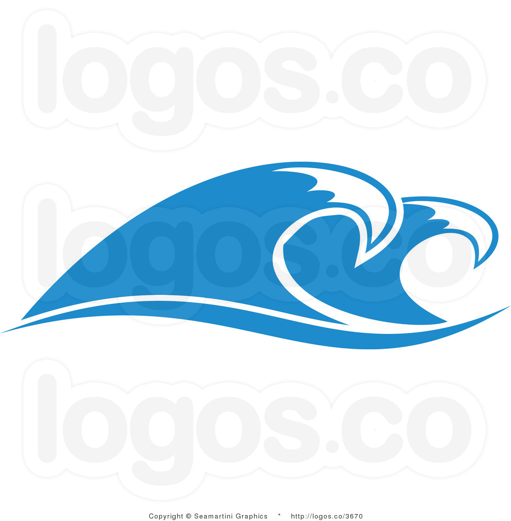 Graphic Water Waves Clipart - Clipart Kid