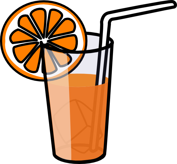 Orange Juice Clip Art At Clker Com   Vector Clip Art Online Royalty