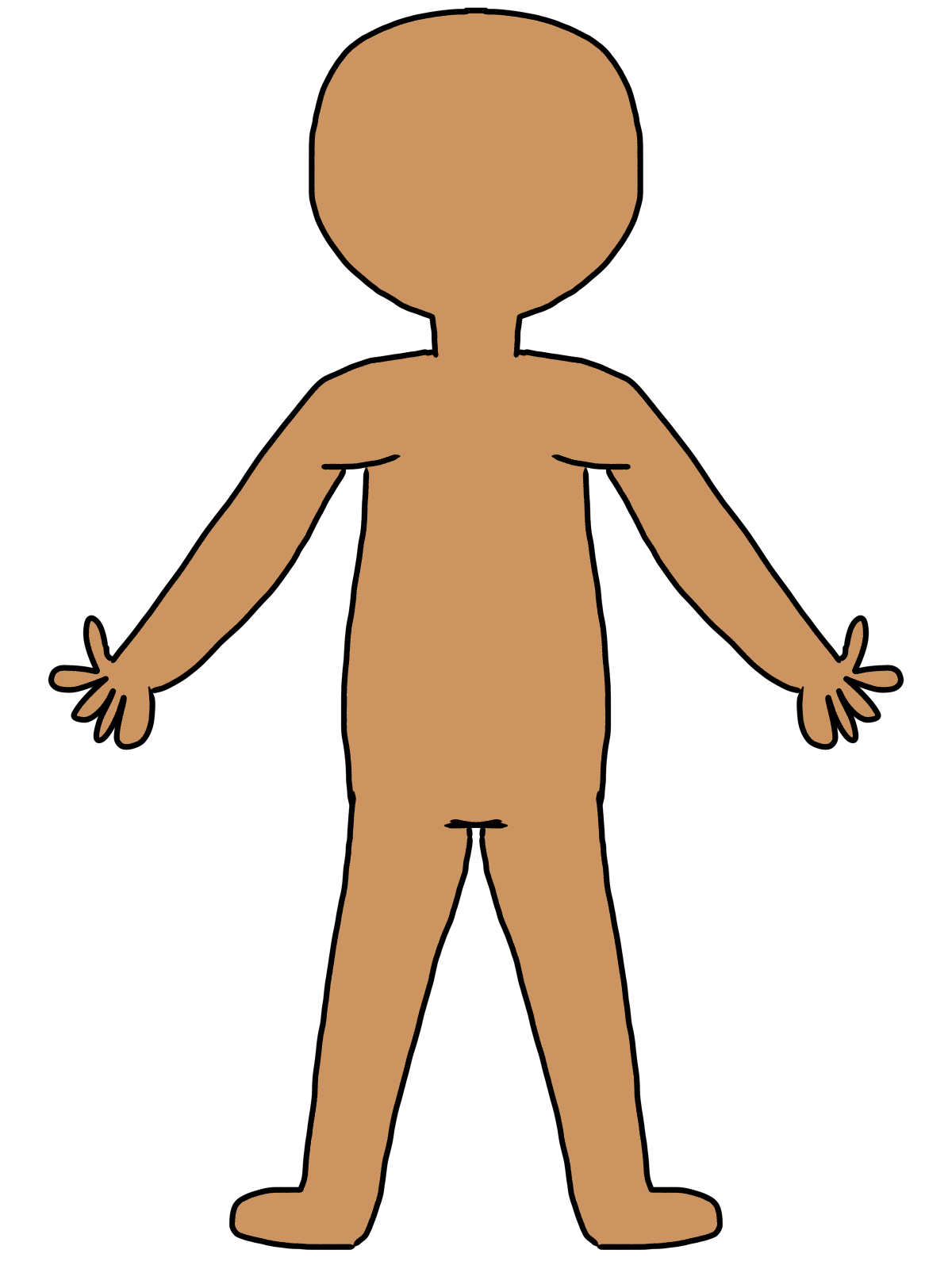 Cartoon Body System Clipart - Clipart Kid