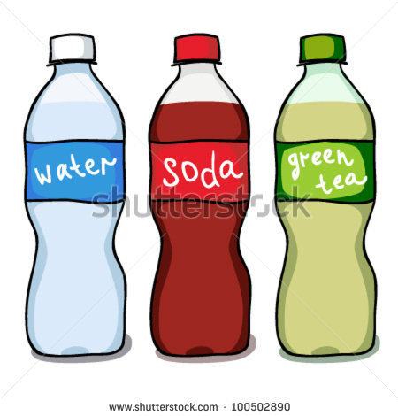 Pop Bottle Clipart - Clipart Suggest