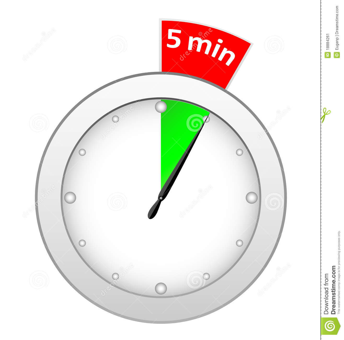 Timer Clipart Timer 5 Minutes