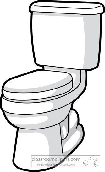 Funny Toilet Flush Clipart - Clipart Kid
