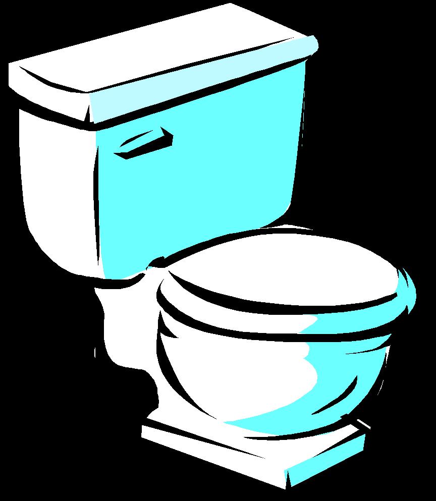Girl On Toilet Clipart